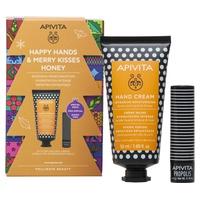 Honey hand cream + propolis lip balm pack