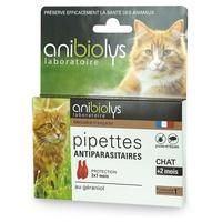 Pipetas antiparasitarias para gatos