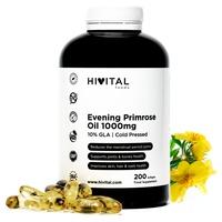 Aceite de Onagra 1000 mg con 10% GLA y Vitamina E