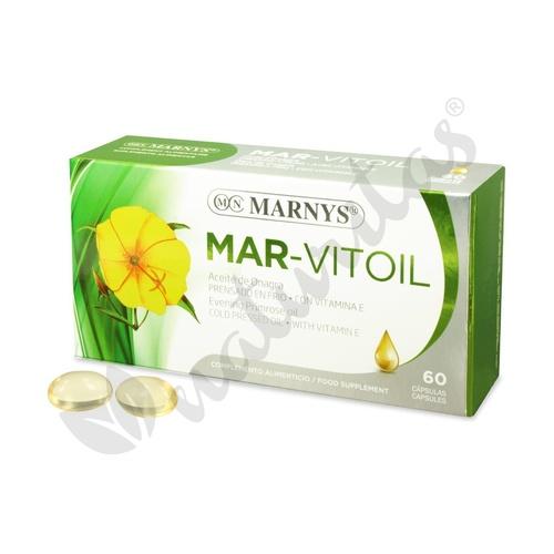 Aceite de Onagra (Mar-Vitoil) 60 perlas de 500 mg de Marnys