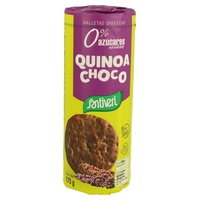 Biscuits digestifs au chocolat et au quinoa 0% de sucres ajoutés