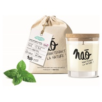 Natural scented candle large model 40h