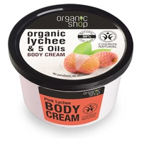 Organic Lychee and 5 Oils Body Cream