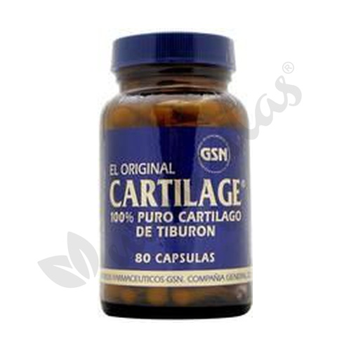 Cartilage 80 cápsulas de 740 mg de Gsn