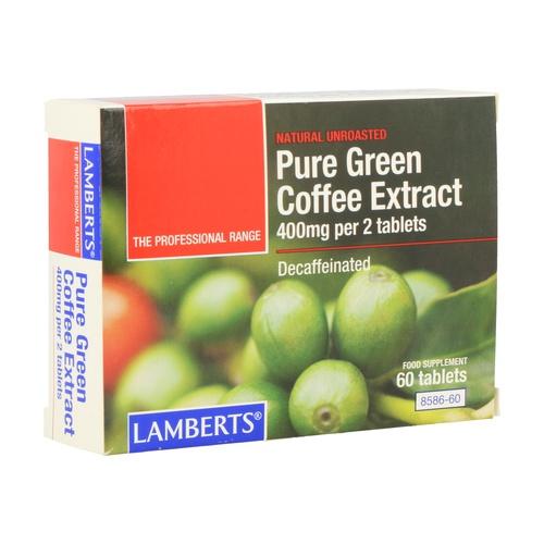 Extracto puro de café verde