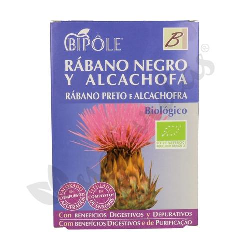 Rábano Negro y Alcachofa Bio