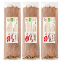 Espaguete de arroz integral sem glúten