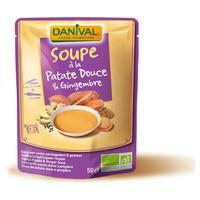 Sopa de Boniato y Jengibre