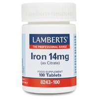 Iron as citrate