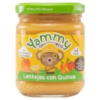 Lentils with Quinoa