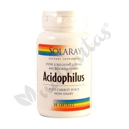 Acidophilus 30 cápsulas de Solaray - Kal