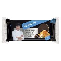 Tortitas Arroz con Chocolate Naranja y Flor Azahar