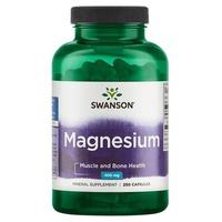 Magnésium, 200 mg