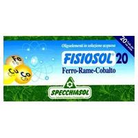 Fisiosol 20 Ferro-Rame-Cobalto