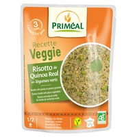 Risotto de quinoa aux légumes verts