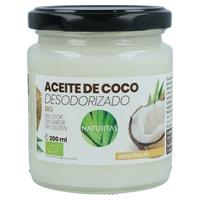 Huile de noix de coco désodorisée biologique