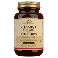 Rosa canina Vitamina C con rosa canina 500 mg