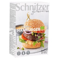Pão de hambúrguer sem glúten