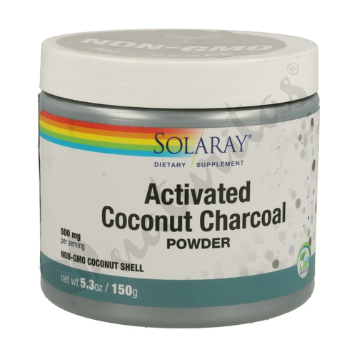 Activated Coconut Charcoal (Carbón Activo)