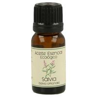 Aceite Esencial Bio de Salvia Frasco Gotero de aceite esencial de 12 ml de Labiatae