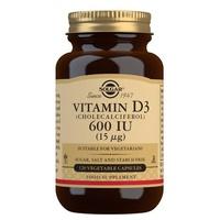 Witamina D3 (cholekalcyferol) 600 IU (15 µg) Warzywa