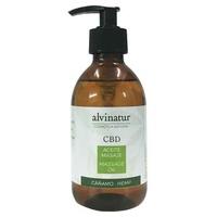Aceite de masaje Cáñamo + CBD