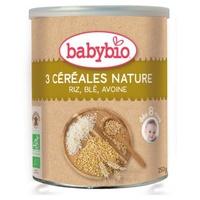 Papilla 3 Cereales +8 meses 250 gr de Babybio