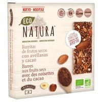 Barritas de Frutos Secos con Avellanas y Cacao