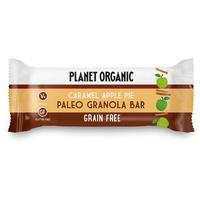 Barrita de Granola de Paleo, Tarta Manzana y Caramelo