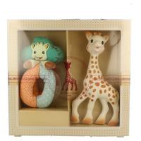 Mi primer set Sophie la girafe + sonajero