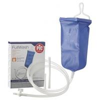 Enema bock: bolsa de 2 litros, manguera, 2 cánulas (vaginal y rectal)