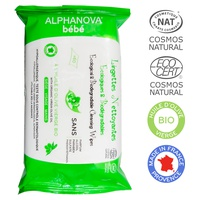 Ecological & Biodegradable Baby Cleansing Wipes