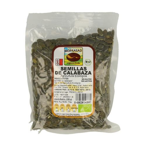 Semillas de Calabaza 250 gr de Bioprasad