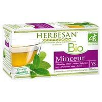 Herbesan Organiczny wyszczuplający napar z zielonej herbaty