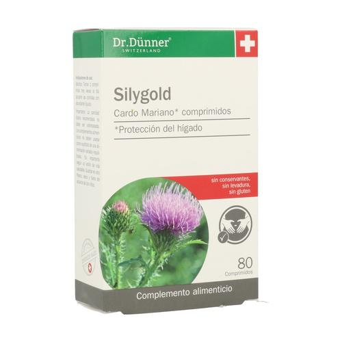 Silygold (Cardo Mariano) Dr.Dunner 80 comprimidos de Salus
