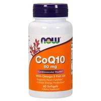 CoQ10 60 mg with Omega 3