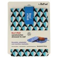 Porta Bocadillos Boc'n'Roll Tiles Azul