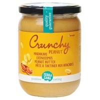 Beurre d'arachide avec morceaux d'arachide