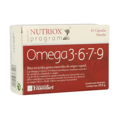 Omega 3, 6, 7, 9