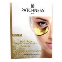 Złota opaska na oko z kolagenem