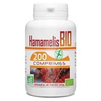 Hamamelis organic leaf