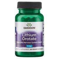 Orotato di litio, 5 mg