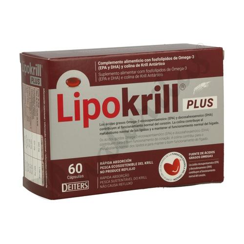 39dc6e10c Lipokrill Plus 60 cápsulas de Deiters | Naturitas