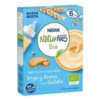 Nestlé Naturnes BIO Papilla Trigo y Avena Sabor Galleta Naturnes 6m+