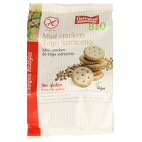 Mini Crackers Trigo Sarraceno Sin Gluten Bio