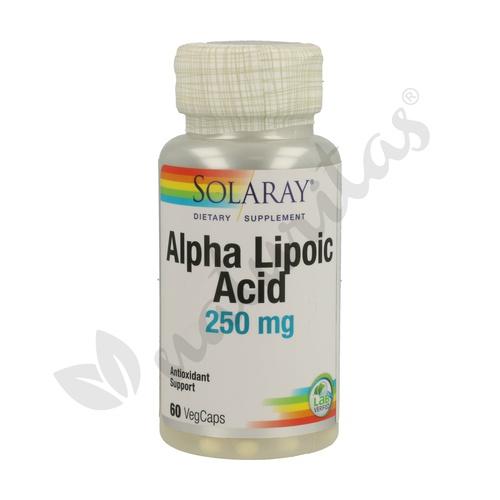 Alpha Lipoic Acid 60 cápsulas de 250 mg de Solaray - Kal