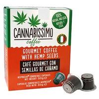 Café con Semillas de Cáñamo Cápsulas Compatibles Nespresso