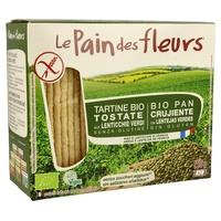 Pain de fleurs aux lentilles vertes Bio