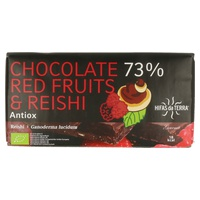 Chocolate 73% Frutos Rojos y Reishi