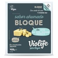 Bloque vegano sabor queso ahumado